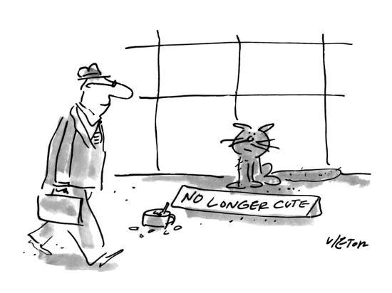 dean-vietor-man-walks-past-a-cat-who-is-panhandling-with-a-tin-cup-full-of-change-and-new-yorker-cartoon