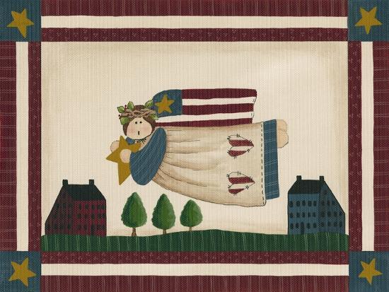 debbie-mcmaster-patriotic-angel-with-flag-border