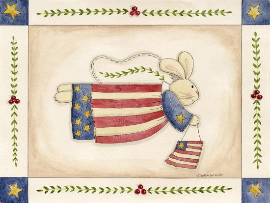 debbie-mcmaster-patriotic-bunny-angel-with-flag