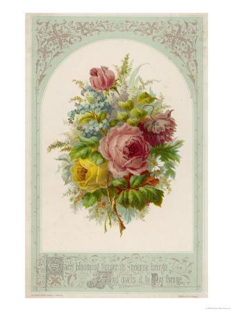 decorative-arrangement-of-roses-with-other-flowers