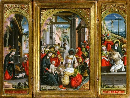 defendente-ferrari-nativity-adoration-of-the-magi-and-christ-at-the-sepulchre-triptych-1523-inv-1040