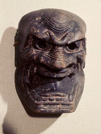 demon-mask-from-a-noh-drama