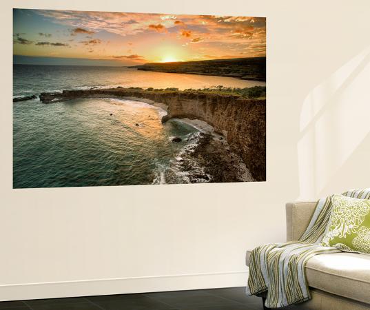dennis-frates-sunset-ay-sweetheat-rock-lanai-hawaii