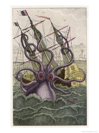 denys-de-montfort-kraken-attacks-a-sailing-vessel