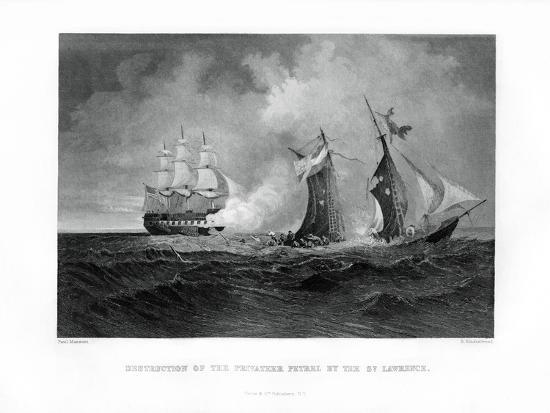 destruction-of-the-privateer-petrel-by-the-st-lawrence-28-july-1861-1862-186