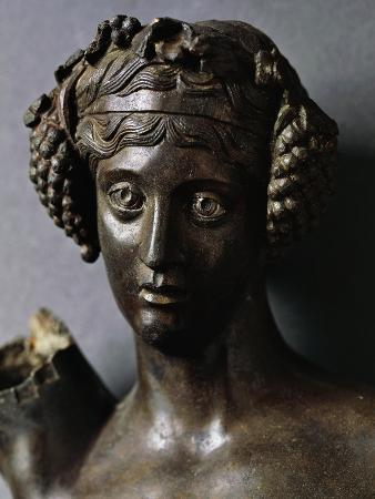 detail-of-head-of-bronze-statuette-of-bacchus