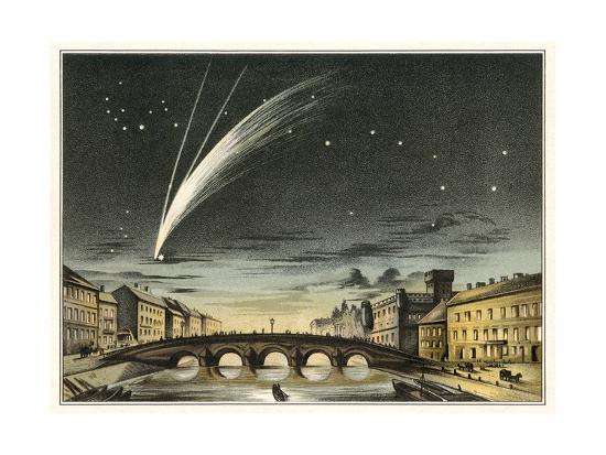 detlev-van-ravenswaay-donati-s-comet-of-1858-artwork