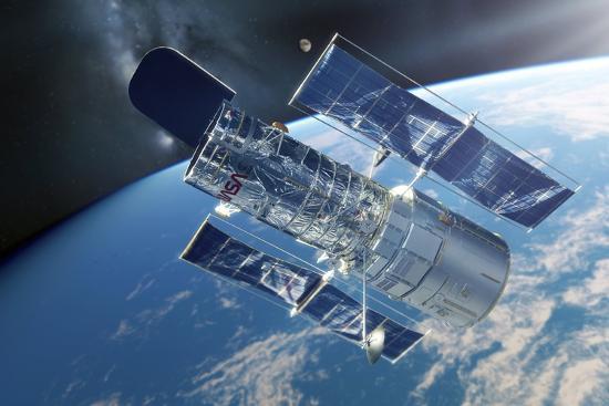 detlev-van-ravenswaay-hubble-space-telescope-artwork