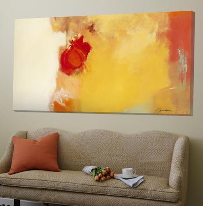 red note loft art by diane lambin at. Black Bedroom Furniture Sets. Home Design Ideas