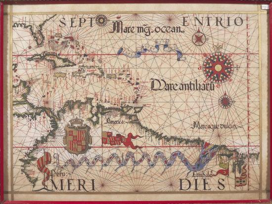 diego-homen-map-of-caribbean-antilles-and-northern-south-america