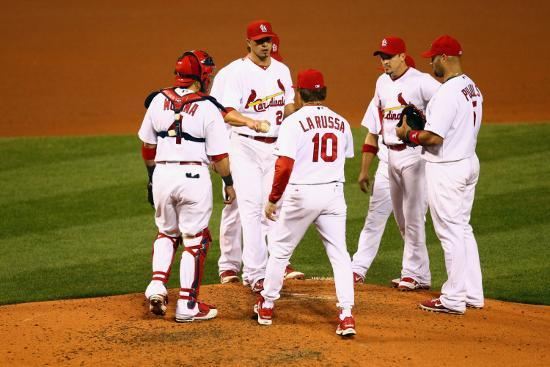dilip-vishwanat-brewers-v-st-louis-cardinals-g-four-st-louis-mo-oct-13-kyle-lohse-and-tony-larussa