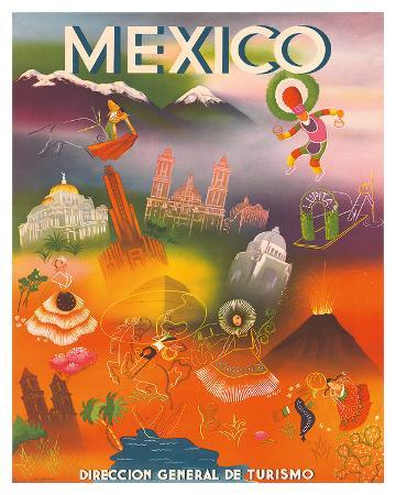 direccion-general-de-turismo-mexico-c-1950