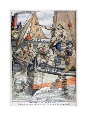 dispute-between-french-and-english-fishermen-in-the-channel-1904