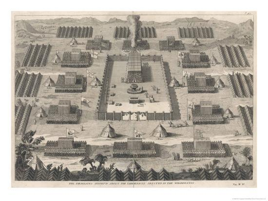 dom-augustin-calmet-exodus-the-israelites-encamped-about-the-tabernacle-erected-in-the-wilderness