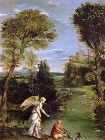 domenichino-landscape-with-tobias-laying-hold-of-the-fish-circa-1615