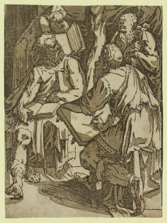 domenico-beccafumi-four-doctors-of-the-church-between-1500-and-1551