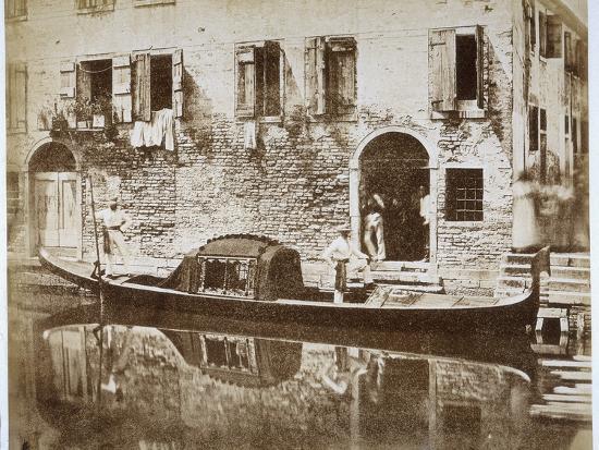 domenico-bresolin-gondola-in-venice-c-1855