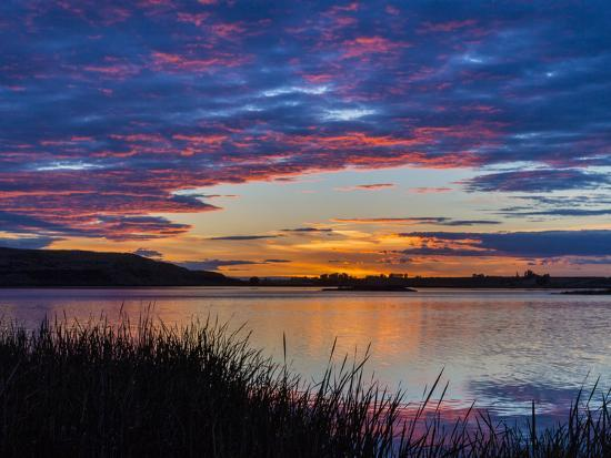 don-paulson-usa-washington-sunset-on-scooteney-reservoir
