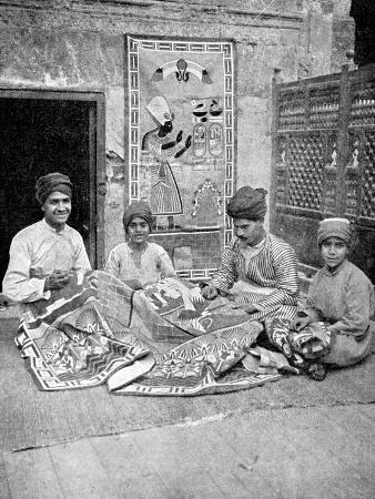 donald-mcleish-craftsmen-cairo-egypt-africa-1936