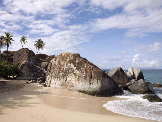 The baths large granite boulders virgin gorda british for Case in stile british west indies