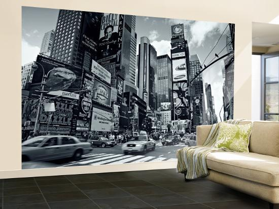 Times square new york city usa wall mural large by - Poster mural xxl new york ...