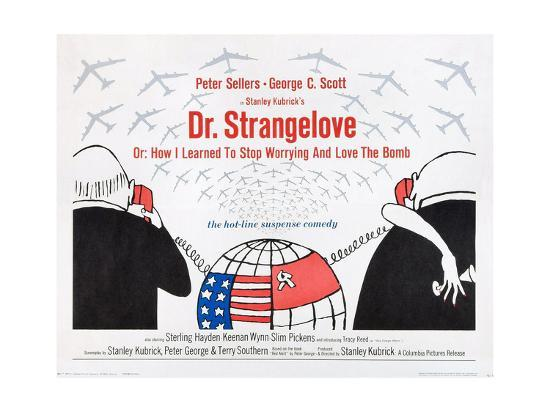 the use of photography in dr strangelove or how i learned to stop worrying and love the bomb Dr strangelove or: how i learned to stop worrying and love the bomb and the hydrogen bomb relatively new and dr strangelove seems remarkably fresh and.