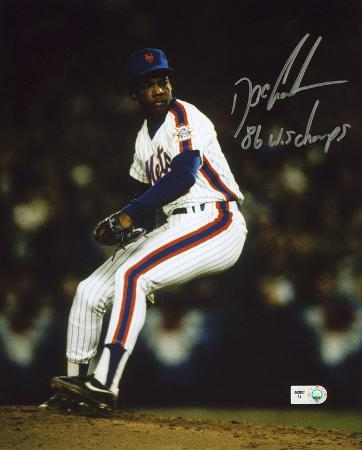 dwight-doc-gooden-ny-mets-pitching-with-86-ws-champs-autographed-photo-hand-signed-collectable