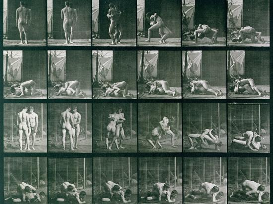 eadweard-muybridge-two-men-wrestling-plate-346-from-animal-locomotion-1887