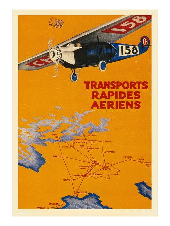 early-french-air-routes-monoplane