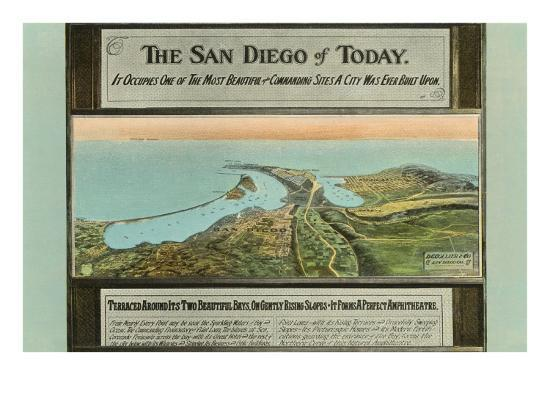 early-map-of-san-diego-california