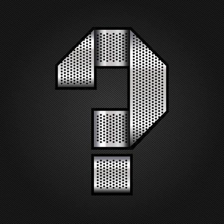 ecelop-letter-metal-chrome-ribbon-question-mark