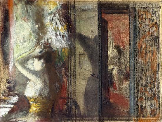 edgar-degas-actresses-dressing-room-c-1885