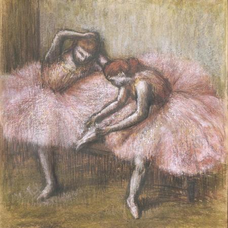 edgar-degas-deux-danseuses-roses