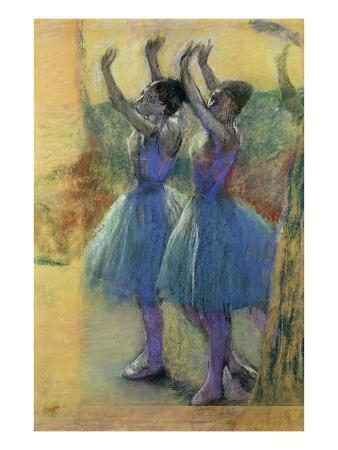 edgar-degas-two-blue-dancers