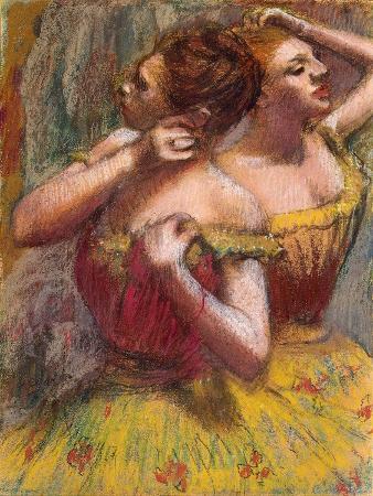 edgar-degas-two-dancers