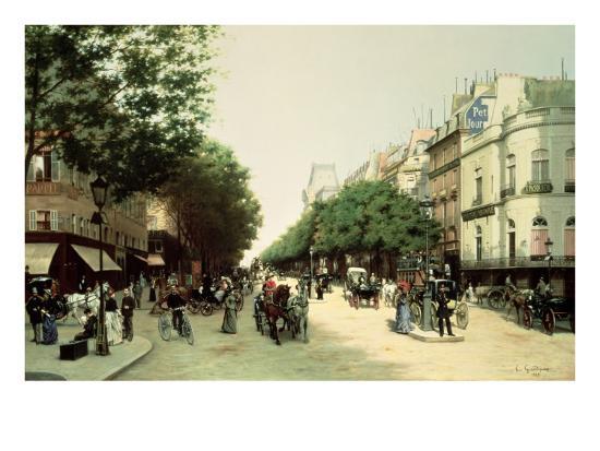 edmond-georges-grandjean-le-boulevard-des-italiens