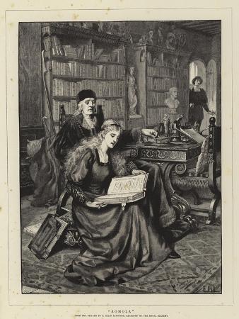 edmund-blair-leighton-romola