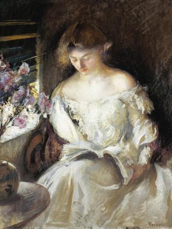 edmund-charles-tarbell-girl-reading-1902