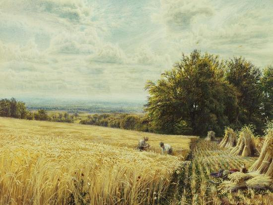 edmund-george-warren-the-harvesters-1865