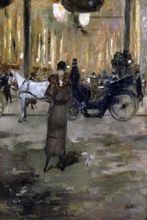 edouard-jaques-dufeu-the-elegante-c1840-1900