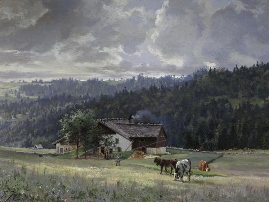 edouard-jenmaire-chalet-in-an-alpine-landscape