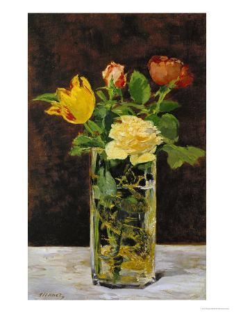 edouard-manet-roses-and-tulips-1882