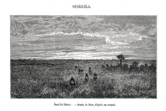 edouard-riou-los-llanos-venezuela-19th-century