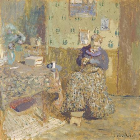 edouard-vuillard-madame-vuillard-sewing-1920