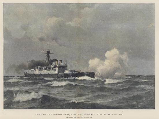 eduardo-de-martino-a-battleship-of-1893