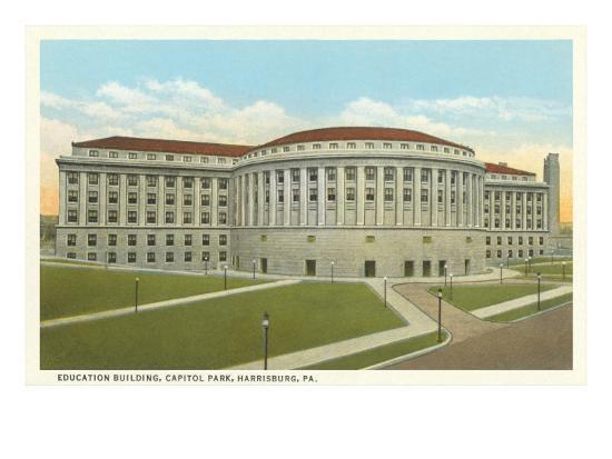 education-building-harrisburg-pennsylvania
