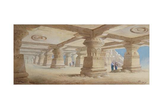 edward-arthur-heffer-rock-cut-temple-ellora-maharashtra-india-1878