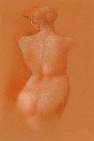edward-burne-jones-nude-female-study-c-1890