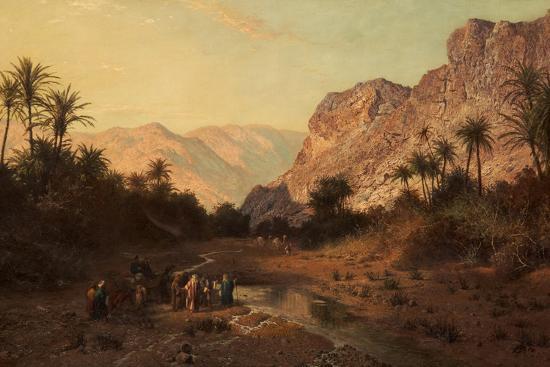 edward-henry-holder-rephidim-desert-of-sinai-1877