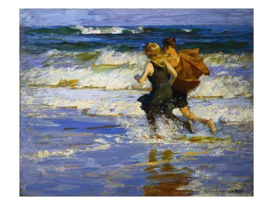 edward-henry-potthast-at-the-beach